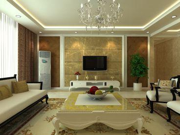 状元府邸简欧风格全包125平装修