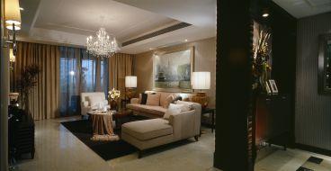灵泉北里简欧风格全包三居室装修