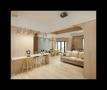 联创科技联裕楼简约风格住宅装修
