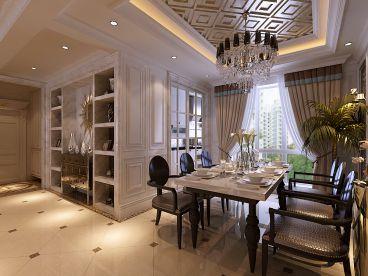 和昌灣景國際歐式古典餐廳效果圖