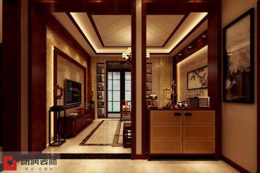 碧桂园新中式客厅效果图
