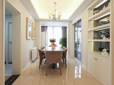 竹海水韵简约风格半包三居室装潢