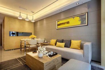 天阳尚城国际简约风格90平住宅装修案例