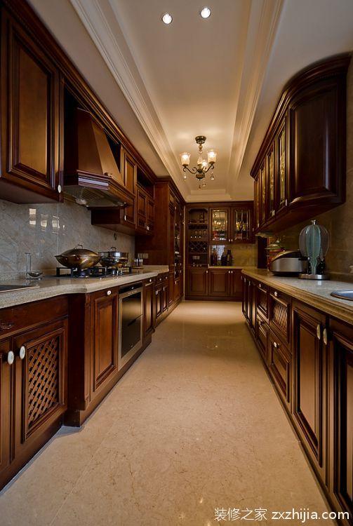 香提庭院欧式古典风格全包家装