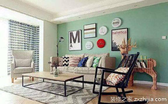 轻美式美式风格110半包住宅装修