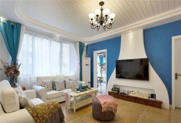 山水润城地中海风格全包复式住宅装修