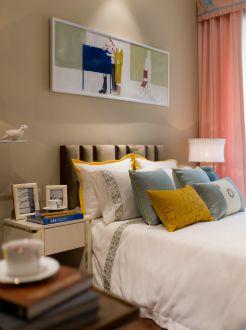 清扬御庭现代简约卧室效果图