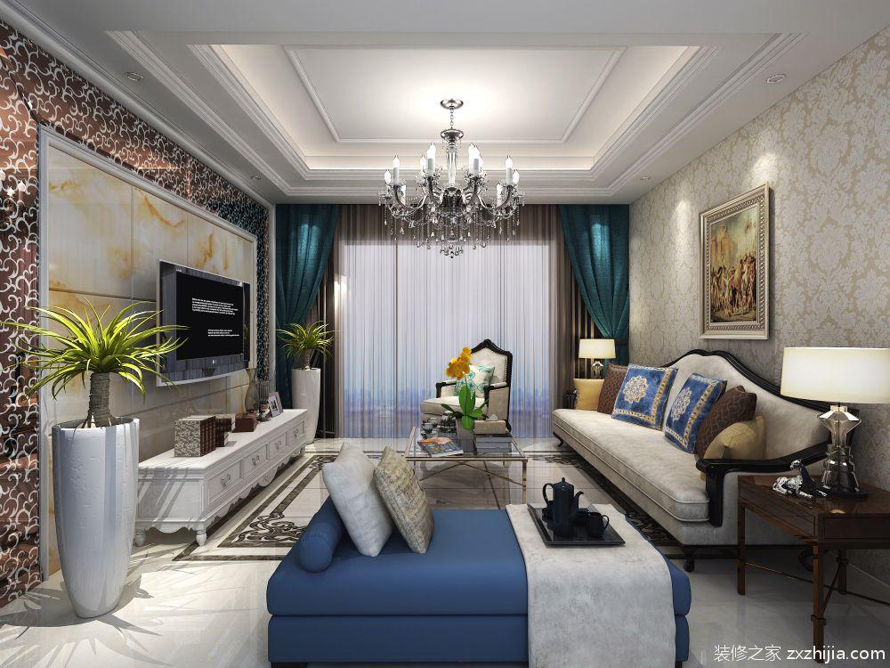 尚海城简约风格半包122平装修