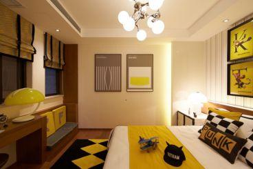 重庆东海滨江城现代简约卧室效果图