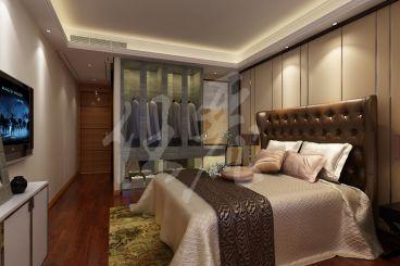 阳光上东港式卧室效果图