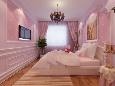 大兴九臻130欧式古典卧室效果图