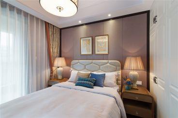中国铁建国际城时尚混搭卧室效果图