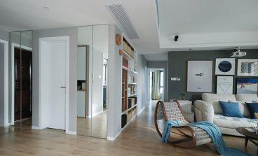 和家园现代简约客厅效果图