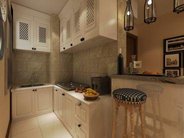 中海瀾庭現代簡約廚房效果圖