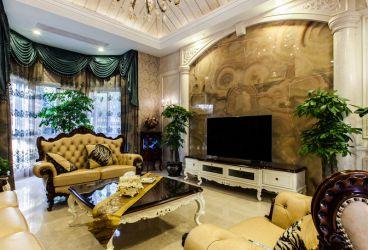 滇池ONE欧式古典风格全包别墅装修