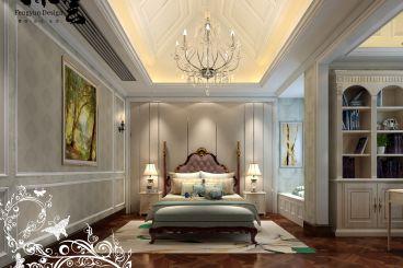 江语海欧式古典卧室效果图