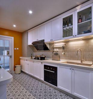大华铂金郦府美式厨房效果图