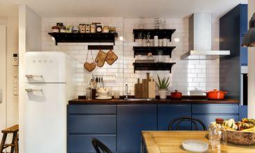 首創國際城現代簡約廚房效果圖