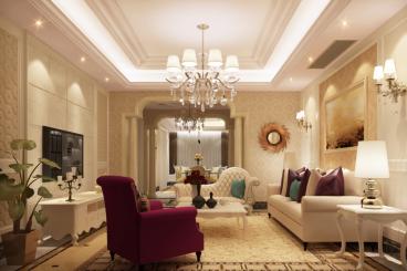 城上城一期简欧风格半包公寓168m²效果