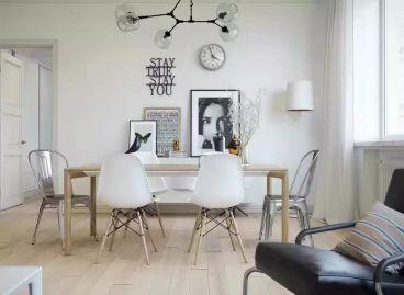 北欧风格60平两居室全包装修