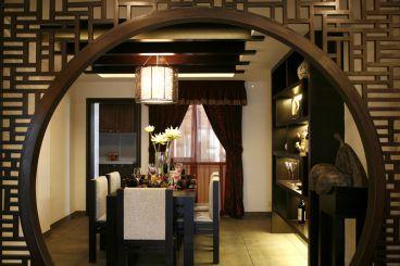 京铁和园新中式风格135平家装