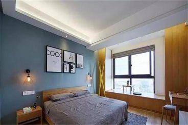 巴国龙庭现代简约卧室效果图