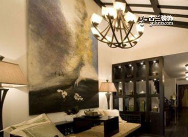 陽光雅居美式客廳效果圖
