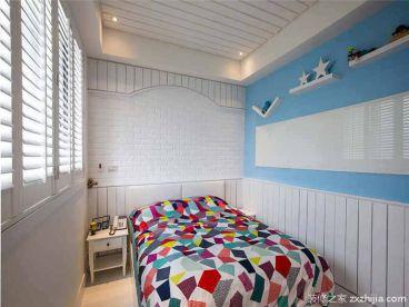 观锦现代简约卧室效果图