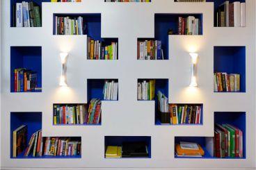 梦世界时尚混搭书房效果图
