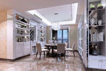 丽景湾141平三室二厅欧式古典装修效果图