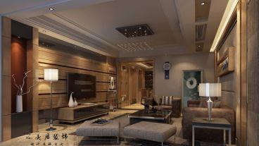 天悦湾175平四室二厅现代简约装修效果图