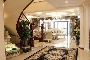 海棠晓月欧式古典客厅效果图
