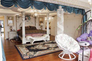 海棠曉月歐式古典臥室效果圖