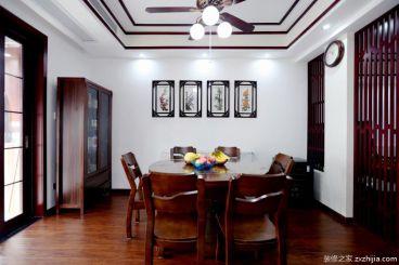 132平三室二厅新中式装修效果图