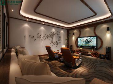 云玺大宅400平六室三厅新中式装修效果图