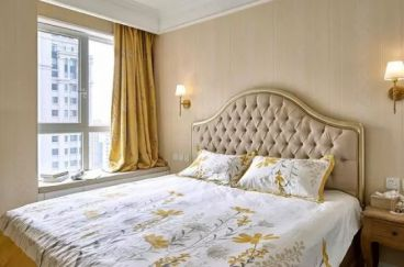 弘阳上城美式卧室效果图