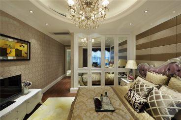 红山圣都欧式古典卧室效果图