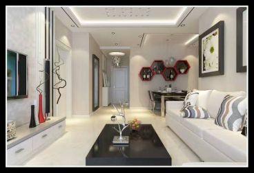 万科公寓52平一室一厅现代简约装修效果图