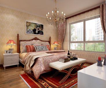 红星国际广场欧式古典卧室效果图