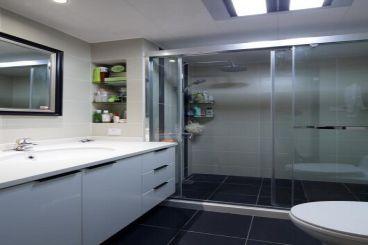 紫御江山88平三室二厅现代简约装修效果图