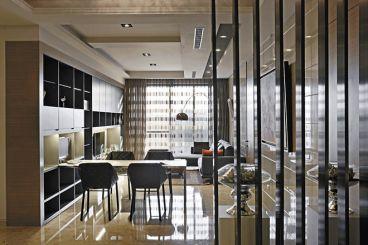 中海国际社区别墅现代简约餐厅效果图