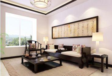 紫竹华庭新古典客厅效果图