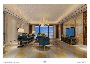 厦门华尔顿345平七室三厅欧式古典装修效