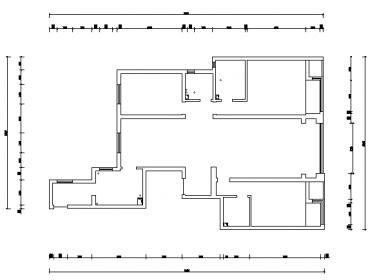 尚景新世界186平四室一厅美式装修效果图