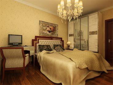 和平时光欧式古典卧室效果图