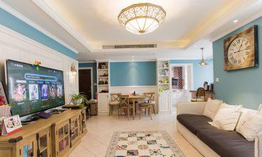宫园中央全包二室二厅装修效果图