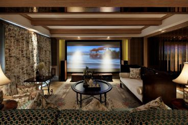 华仑港湾三室一厅全包装修效果图