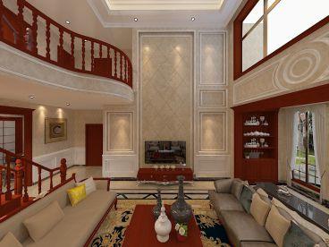 世茂萨拉曼卡别墅全包简欧装修效果图