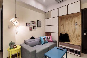 中建锦绣城日式客厅效果图