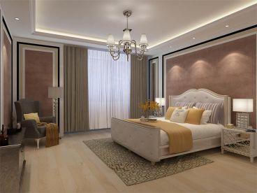 香槟城现代简约卧室效果图
